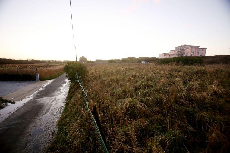 De duinen verhinderen het gevaar op overstromingen.