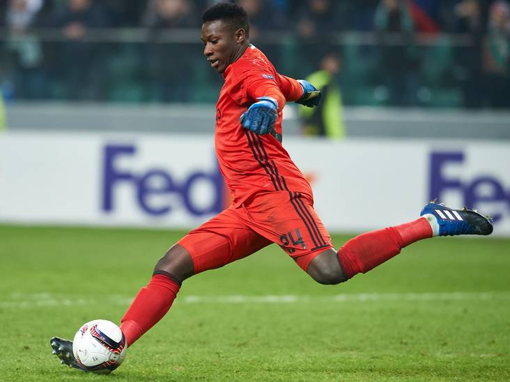 Onana in team van de week Europa League