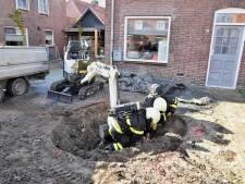Plaatsen van trampoline in Oisterwijk gaat zodanig mis dat brandweer met spoed moet ingrijpen