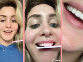 """Je tanden vijlen is een hit op TikTok. Tandarts waarschuwt: """"Volg deze trend niet!"""""""