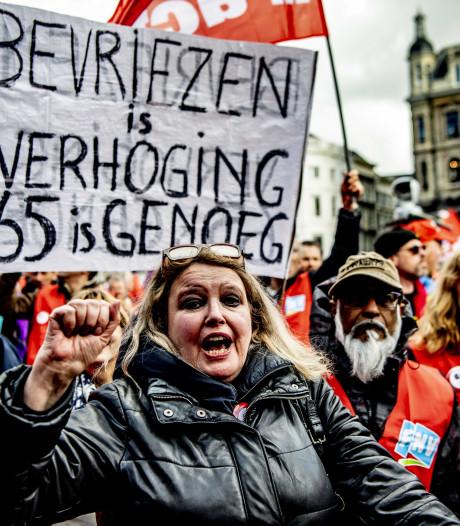 Vakbonden: 29 mei nieuwe actiedag pensioenen