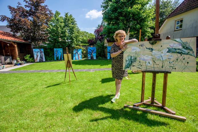 May van Heijst uit Nieuwkuijk doet komend pinksterweekend voor het eerst mee aan de Route van de Kunst.