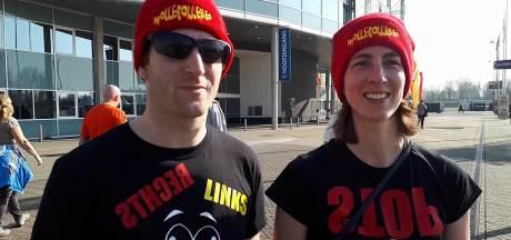 Eerste fans van Snollebollekes arriveren bij GelreDome: 'Nog nooit zo'n mooie verjaardag gehad'