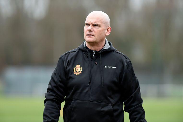 Dennis van Wijk bij KV Mechelen.