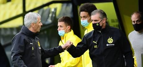 Dortmund-coach Favre kijkt niet naar anderen: 'Gewoon zo doorgaan'