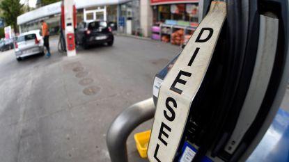 Van eind november geleden dat dieselrijders nog zoveel moesten betalen aan de pomp