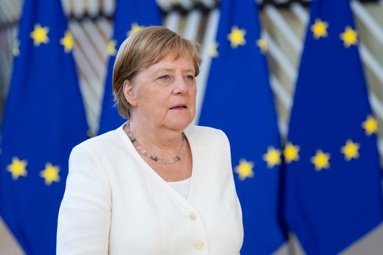 """Volgens Angela Merkel belooft het """"niet heel gemakkelijk"""" te worden."""
