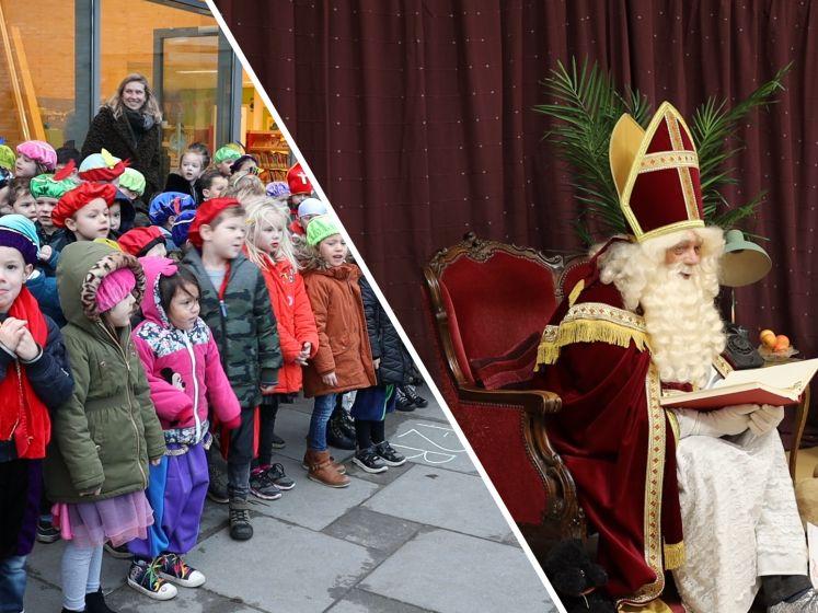 In Sint Jansteen kwam Sinterklaas wél naar school