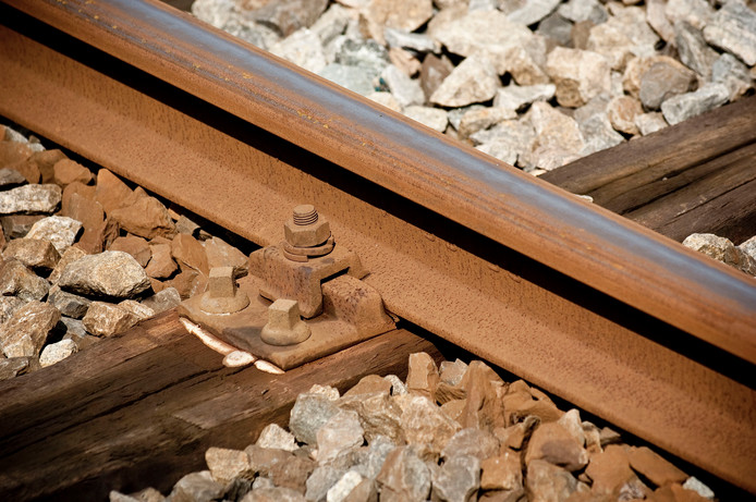 Esther Holierhoek praatte gisteren een meisje van het spoor bij Rhenen.
