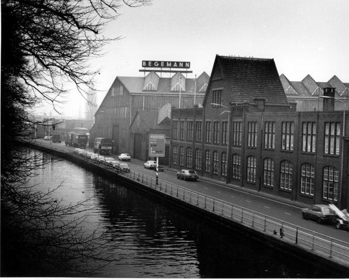 Het Begemann-complex in Helmond in 1989.