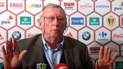 """Bondsvoorzitter Linard: """"Hier op de voetbalbond spreekt niemand over Michel Preud'homme"""""""