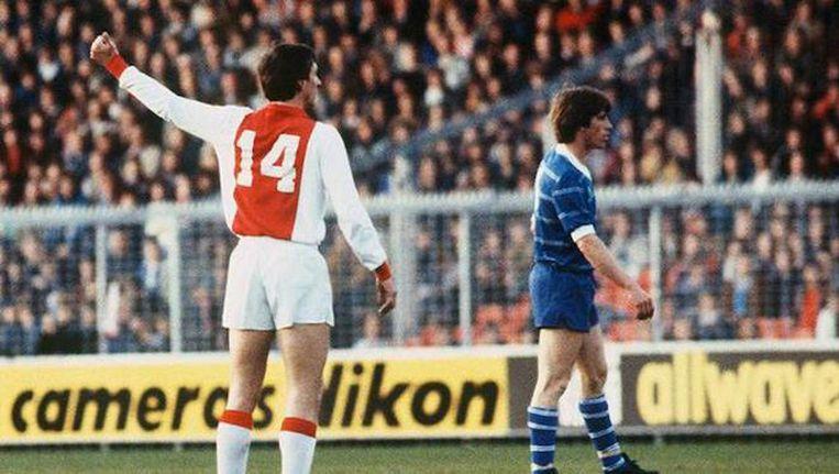 Johan Cruijff leidde Ajax drie keer naar winst van de Europa Cup I. Hij overleed in maart 2016. Beeld ANP
