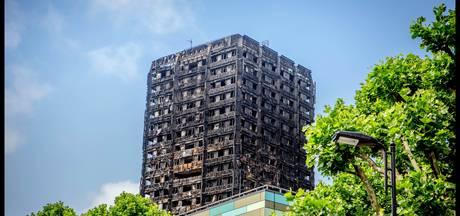 Britse politie onderzoekt dood door schuld bij vuurzee Grenfell Tower