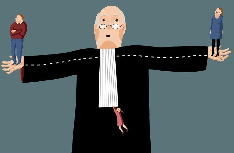 Rechters moeten vele belangen meewegen  Beeld Nanne Meulendijks