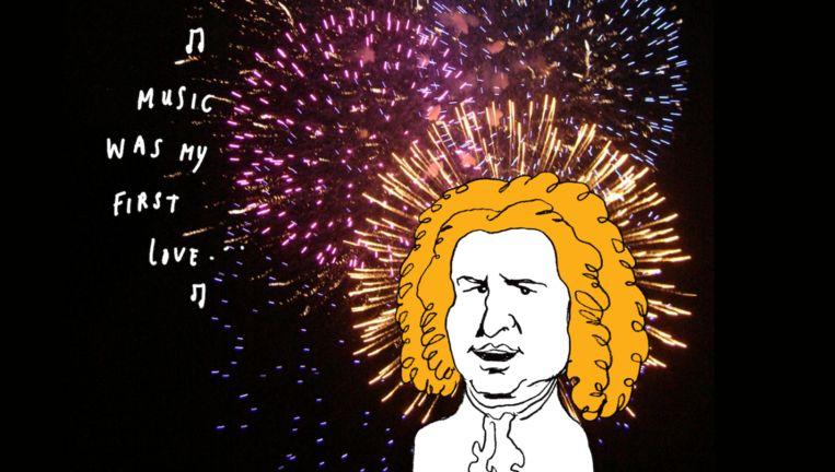 Het feest begint eigenlijk maandagavond al op het dak van Canvas Beeld Happy Bachdag
