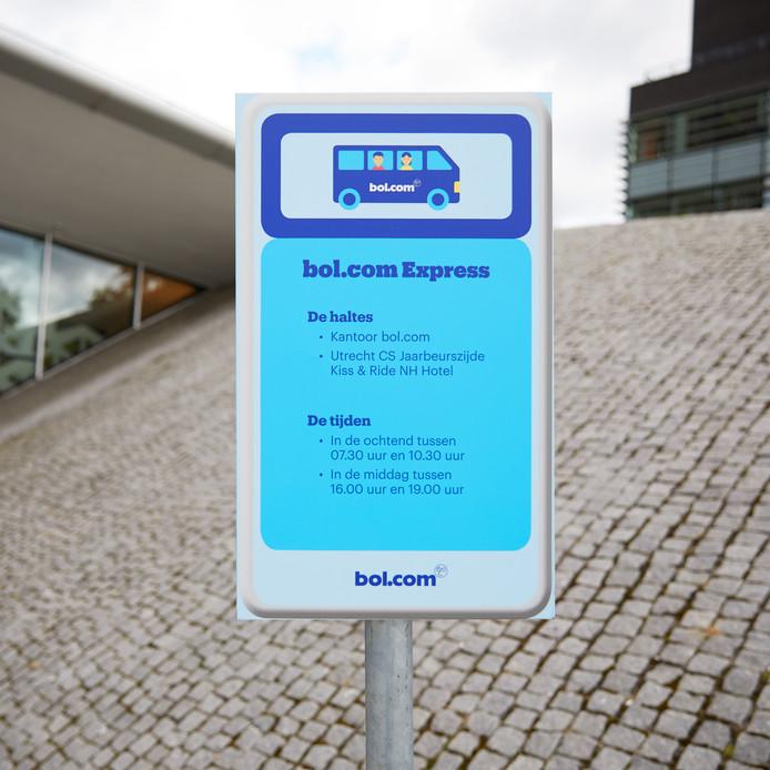 Elke dag nemen 140 werknemers van Bol.com de shuttlebus vanaf Utrecht CS naar het hoofdkantoor op bedrijventerrein Papendorp.