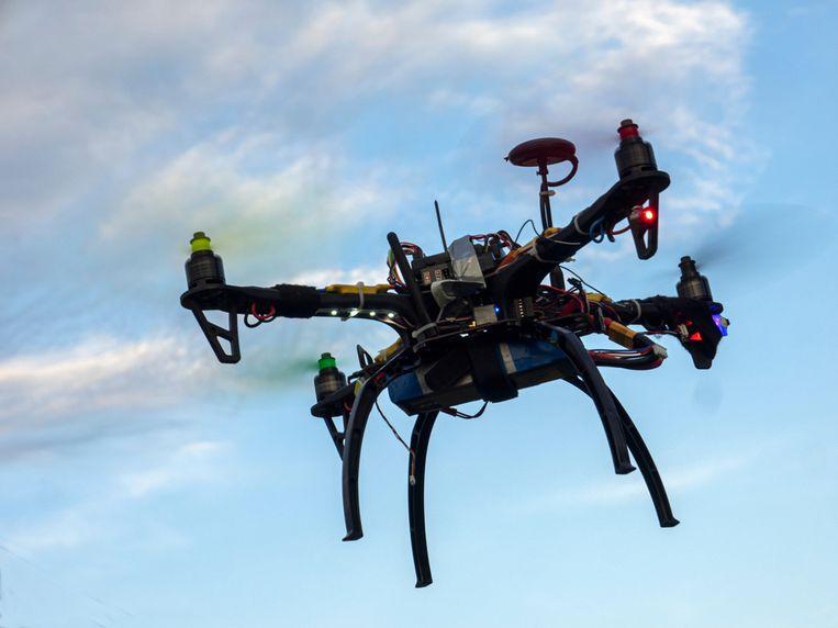 De drones moeten de kuststrook van De Panne tot Nieuwpoort helpen bewaken.