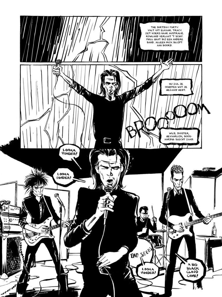 Nick Cave, Mercy on Me Beeld Reinhard Kleist