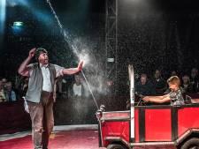 Circusvoorstelling voor dementerende bewoners Aafjehuis