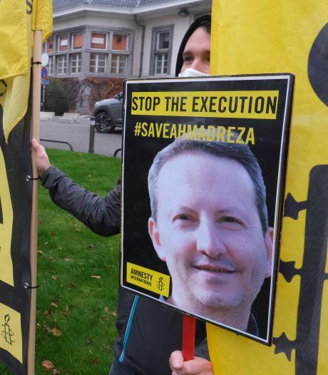 L'exécution du professeur de la VUB condamné à mort en Iran reportée