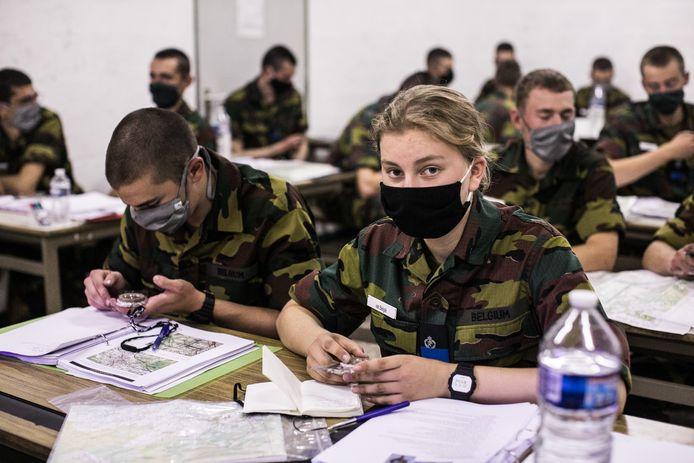 La fille aînée du couple royal a été incorporée le 31 août à l'École royale militaire (ERM) de Bruxelles pour y suivre la première année de cours.