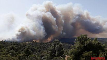 Catalonië in greep van grootste bosbrand in twintig jaar