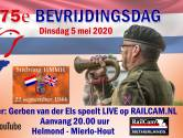 The Last Post in Mierlo-Hout live via internet
