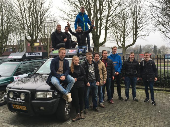 deelnemende studenten van ROC Tilburg aan Go for Africa