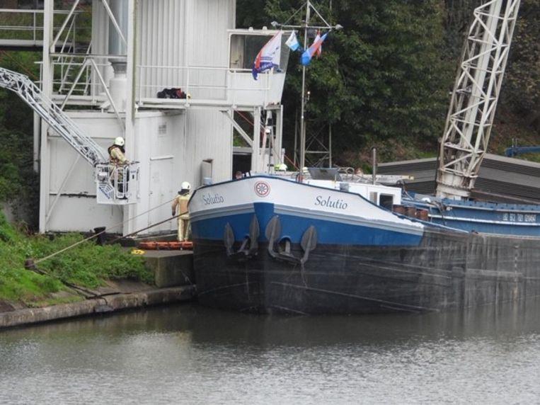 De arbeider viel in het schip langs de Vaart-Noord in Beernem.