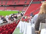 Ajax-fan? Je kunt nu eten op het veld van de Johan Cruijff Arena