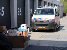 Spullen voor wietkwekerij gevonden in Middelburgse garagebox