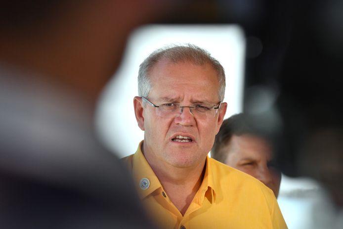 Premier Scott Morrison van Australië.