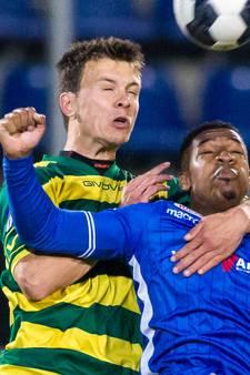 FC Oss strikt verdediger Ferry de Regt van Fortuna Sittard
