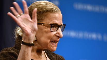 Oudste rechter Amerikaans Hooggerechtshof Ruth Bader Ginsburg (86) overwon voor de vierde keer kanker