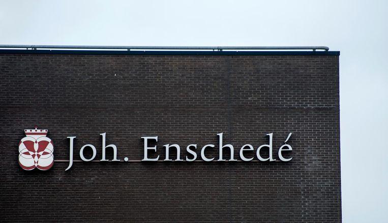 Exterieur van Koninklijke Joh. Enschede. Beeld anp