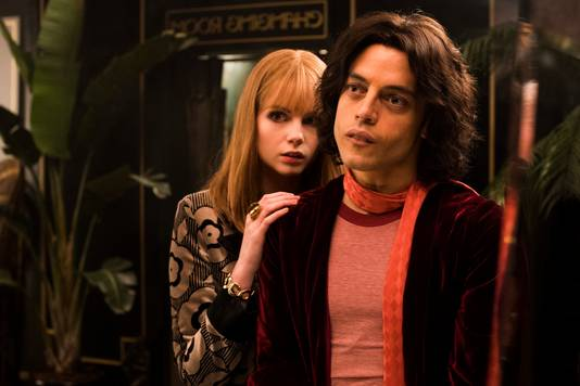 "Lucy Boynton et Rami Malek, dans ""Bohemian Rhapsody"""