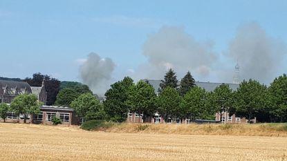 Dak van psychiatrisch ziekenhuis Sint-Kamillus afgebrand