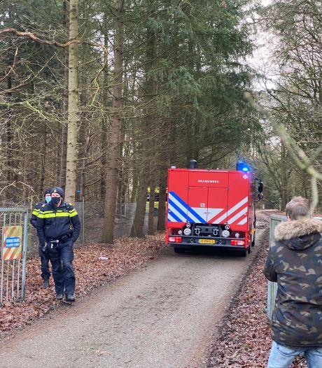 Loods brandt uit in Harderwijk