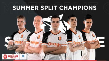Sector One kroont zich (opnieuw) tot kampioen van de Belgian League: bekijk hier de hoogtepunten van de finale