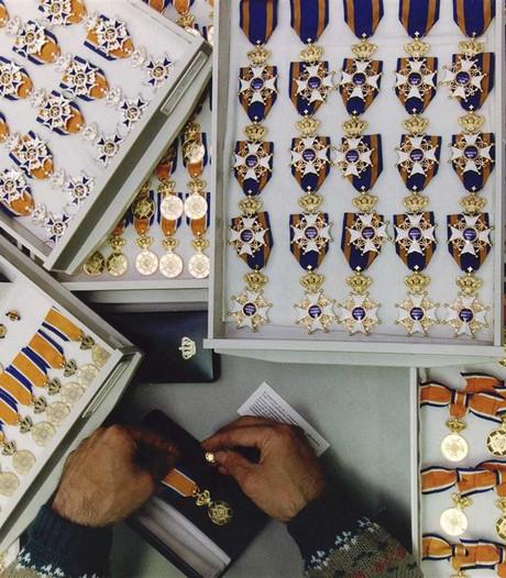 Vijf koninklijke onderscheidingen in de gemeente Rucphen