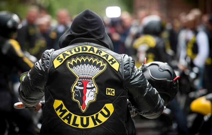Leden van motorclub Satudarah.