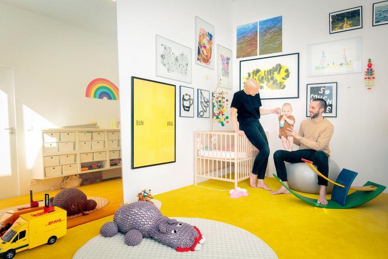 Van links af:  Sabine Marcelis, Koa en Paul Cournet Beeld Marleen Sleeuwits