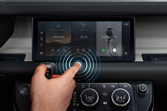 Predictive Touch maakt het mogelijk om aanraakschermen te bedienen zonder ze daadwerkelijk aan te raken.