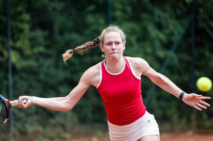 Stephanie Visscher presteert goed in Turkije.
