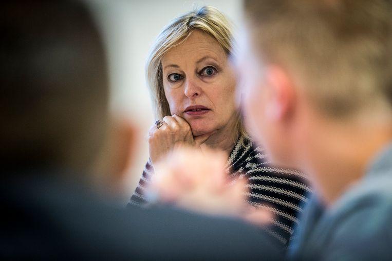 Minister Jet Bussemaker van Onderwijs, Cultuur en Wetenschap. Beeld ANP