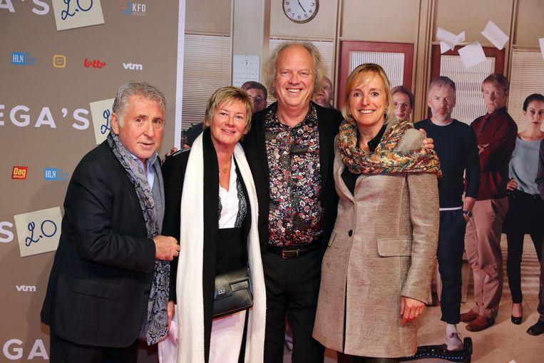 Johny Voners en Annemie, An Swartenbroeckx en Guido