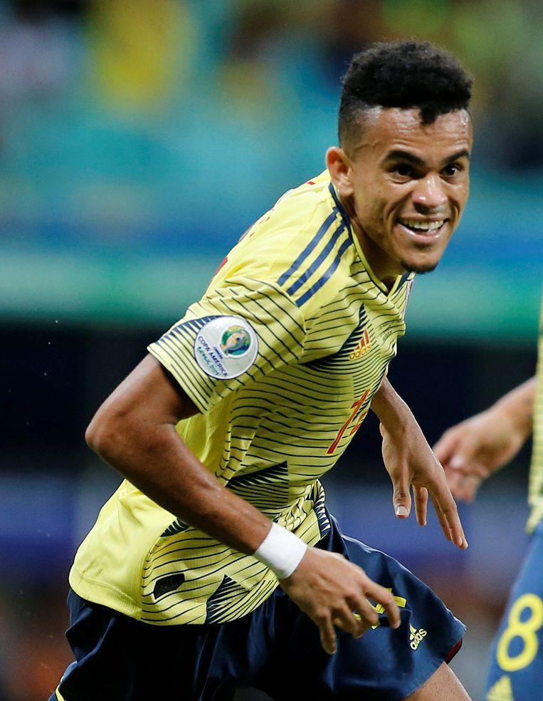 Diaz kreeg tegen Paraguay voor het eerst een plek in de basis.