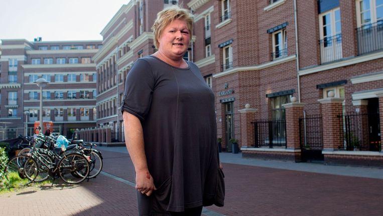 Bewoner Linda van Beek Beeld Rink Hof