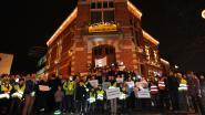 150 'bezorgde' Grimbergenaren in lichtstoet voor warme gemeente