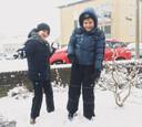 Tristan en Ruben hebben pret in Groesbeek.